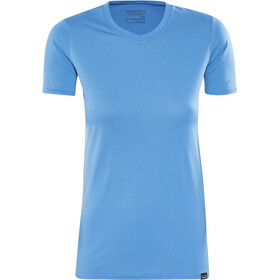 Patagonia Capilene Daily - T-shirt manches courtes Femme - bleu